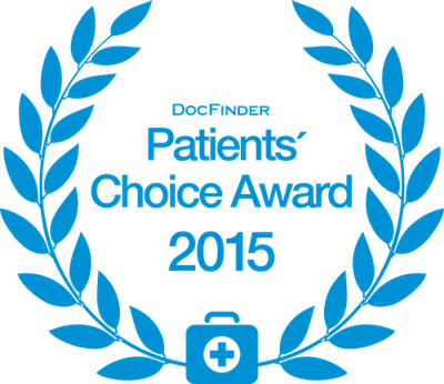 Auszeichnung Patients' Choice Award 2015