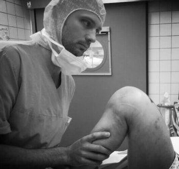 Knie Operation Gerald Gruber Graz